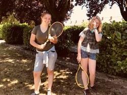 Badminton et jeux d'eau
